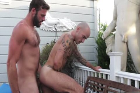 bushy homo butt pound And ejaculation