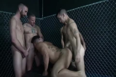Gaytanamo 2 large Bunch group-sex End