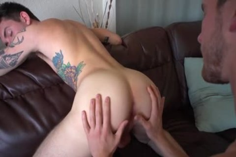 enormous cock gay ass sex With Creampie