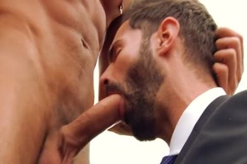 gigantic dick gay oral-service-job And Facial