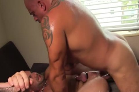 Bruce And Jay plow raw And coarse