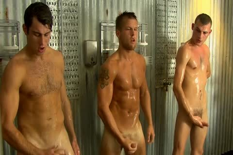 Five boyz Are Jerking After Soccer