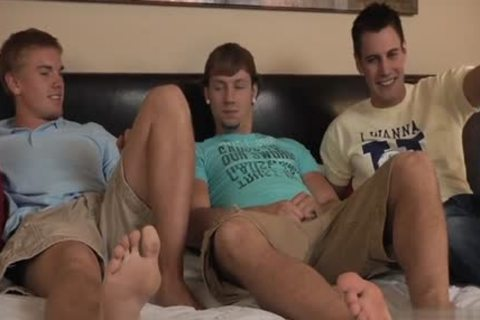 sleazy gay double penetration And ejaculation