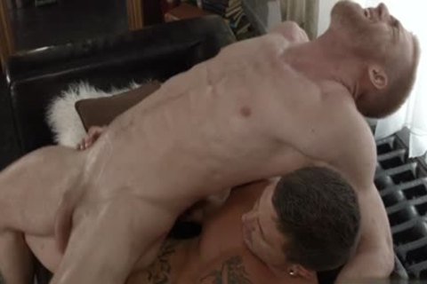 Muscle homosexual bare With cumshot