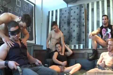 Muscle gay oral sex With spunk flow