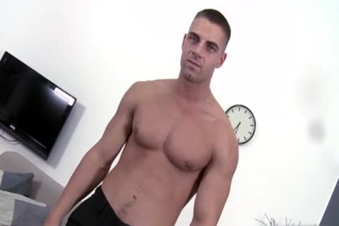 hirsute Daddy Casting With cumshot