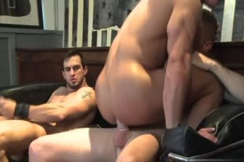 Muscle homosexual oral-job And cumshot