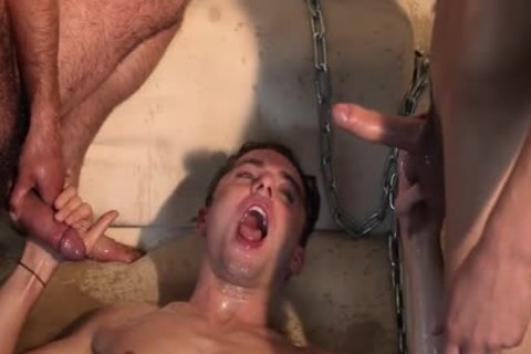 Roped Nailed Bare Urinated On Bdsm