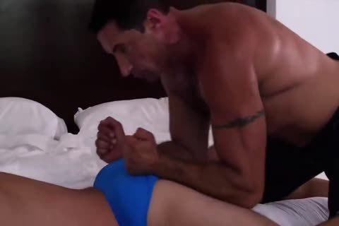 4-8 7 My hairy Muscle Daddy bonks Me