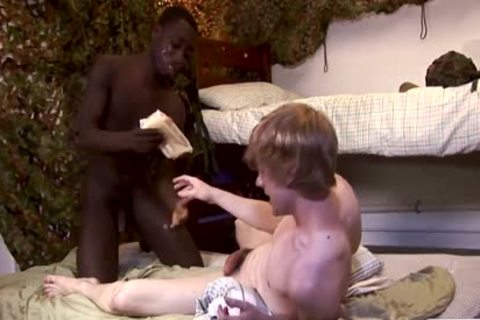 Bulldog XXX Presents White twink Taking humongous bare black dick