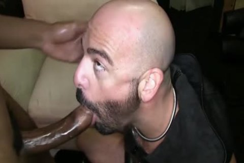 Muscle slave ass invasion With cumshot