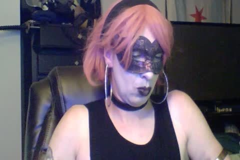 nasty Dancing Goth CD webcam Show (part 2 Of 2)