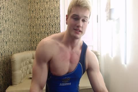 filthy juvenile Russian Muscle Hunk