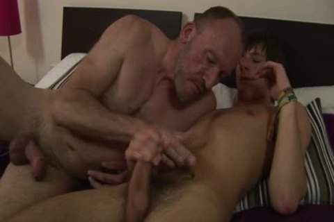 MenVsBoys - Balding gay slams The butthole Of A dirty lad