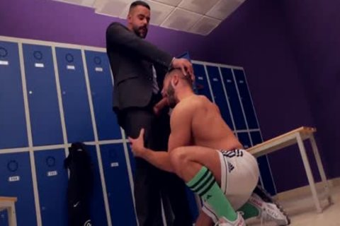 Teddy Torres nailed In The Locker Room