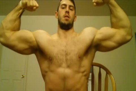 Muscle Hunk Worship