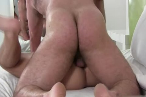 large cock Bear butthole sex And goo flow