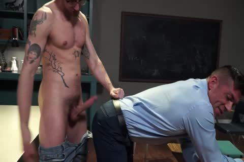 Justin Brody - Bruce Beckham - Muscle Teacher Bottom