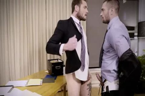 Tattoo gay butthole invasion And Creampie