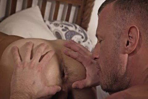 gigantic dong homosexual bare And Facial