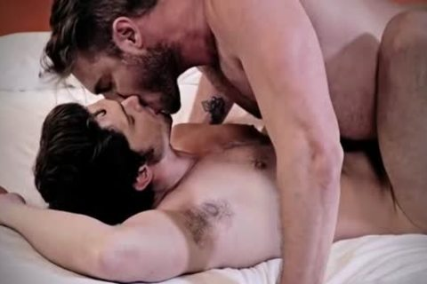 hairy homosexual threesome And spunk flow