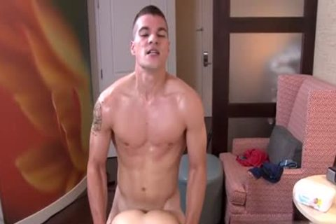 Muscle twink pooper invasion And ejaculation