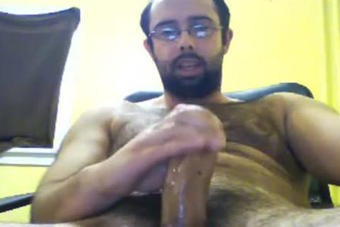 hairy Jacker Packing The enormous cock