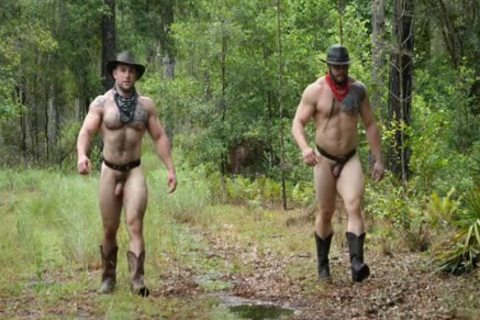 Southworld - Two Muscle men In The Woods
