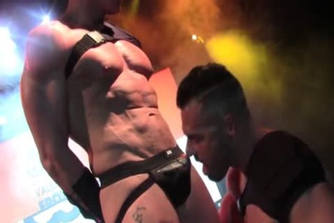 Live slutty nailing On Stage