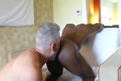 Hung White dad taut black pooper