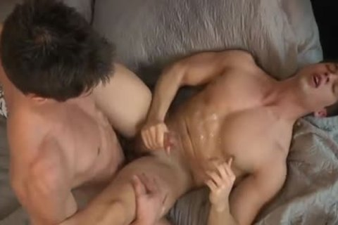 Hunk Cums three Times whilst Being drilled
