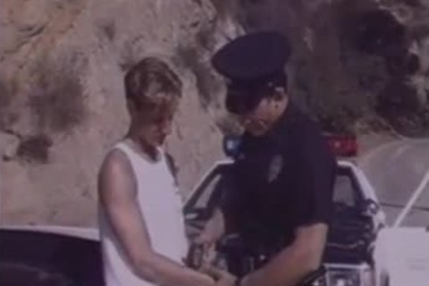 teen Arrested By Cop & Hard fucked.