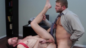 The trickle - Colby Jansen and Brandon Moore anal pound