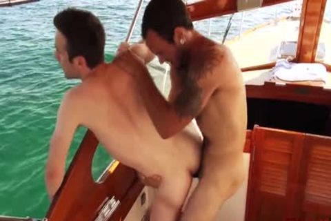 The Boat Ride With Maxx Fitch Barebacking Andrew Collins