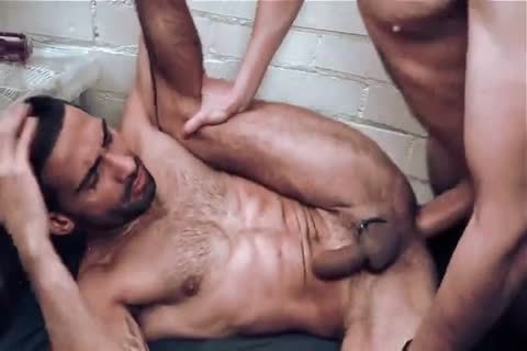 This bare wazoo pounding Is One betwixt Two Hunks