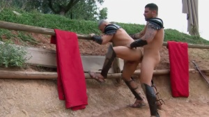 Sacred bunch Of Thebes - Francois Sagat with Ryan drills pooper Hook up
