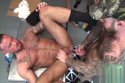Michael Roman's bunch group-sex two