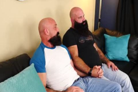 Two hairy Bearded Bears pounding lusty - Jason Victor West