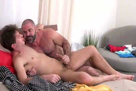 hairy Daddy fucks kinky Think