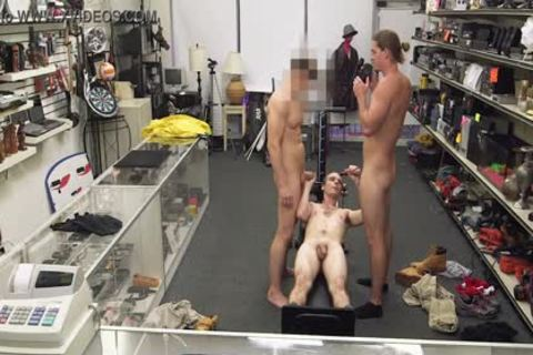 gay PAWN - Fitness Trainer receives butthole nailed By Two Employees