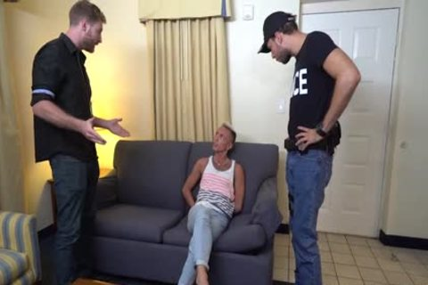 hoe drilled By The Police