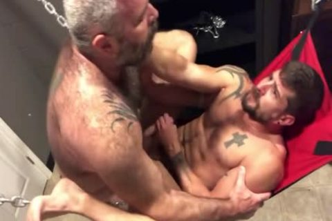 Sean receives pounded In A Sling
