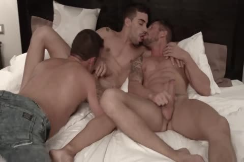 BB - 3some - Nick North Josh Milk & Aaron metallic