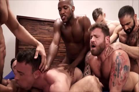 bunch Interracial raw Sex