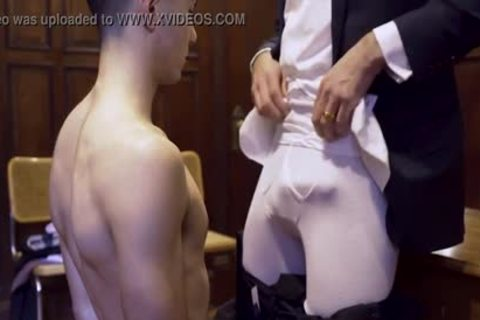 MormonBoyz - Ripped Missionary boy Permeates A Powerful Priests pretty pooper