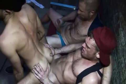Three Hunks raw As hookers