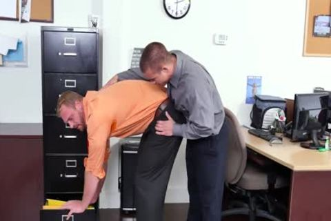 GRAB a-hole - recent Employee gets Broken In By The Boss, Adam Bryant
