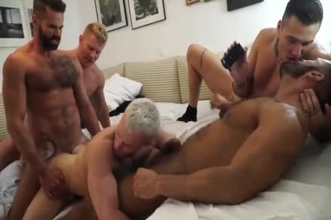 group Of Hunks assist gangbang hoe unprotected