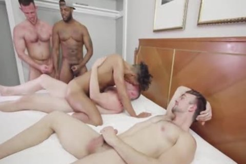 big cock bareback orgy Part two