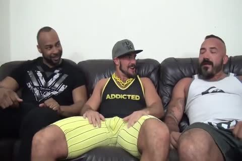 Interracial Muscle Bears plow raw